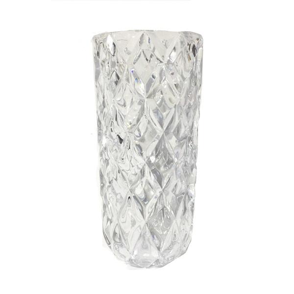 Lọ hoa kim cương 30cm 2036-1 Trắng