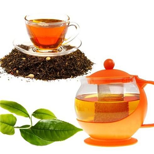 Bình lọc trà thủy tinh tròn 1.25L (màu ngẫu nhiên)